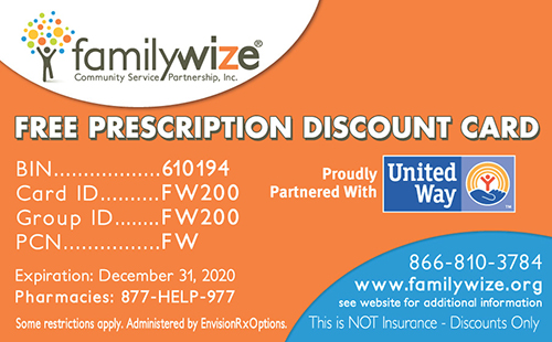 familywize prescription card - Free Prescription Card